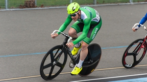 Martyn Irvine took third place in the omnium event (pic: barrykeoghphotography@gmail.com)
