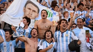 While Argentina fans likewise praised their defence's ability to keep the score even at 0-0 going into the break