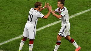 Klose - who in the previous match passed Brazil's Ronaldo as the World Cup's all-time leading goal-scorer - exited the match to raucous applause in the final minutes