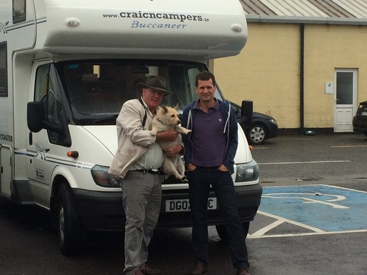 Two Men and a Camper Van