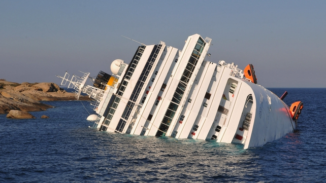 The luxury liner hit rocks and sank off the Tuscan coast in January 2012