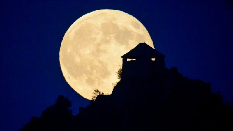 Tracking the moon is an ancient form of time-keeping.