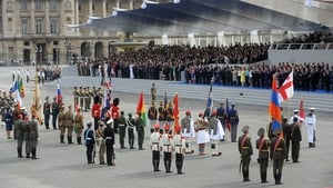 France issued an invitation to all 72 countries involved in World War I to take part in its annual Bastille Day military parade