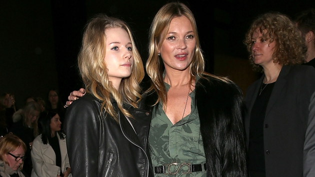Lottie and her famous sis' Kate Moss