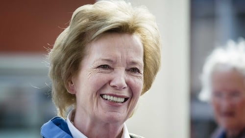 Mary Robinson will leave her role as Special Envoy for the Great Lakes region of Africa