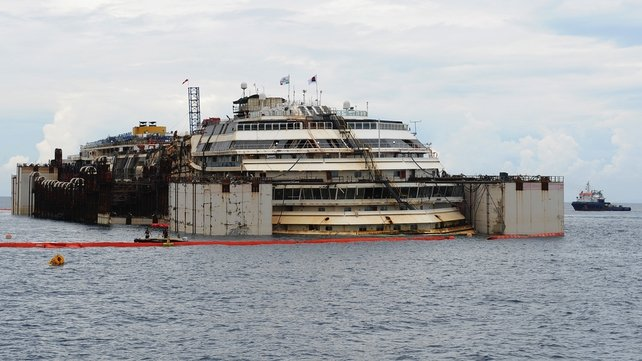 The luxury liner sank off the holiday island of Giglio in January 2012 with the loss of 32 lives