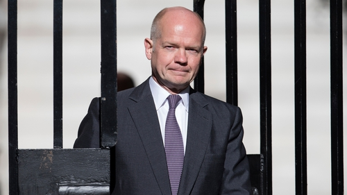 William Hague has been British Foreign Secretary since 2010