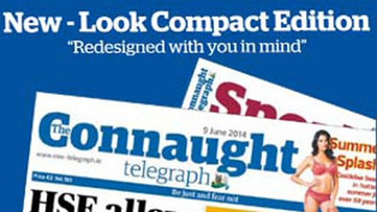 Less is more for Connaught Telegraph