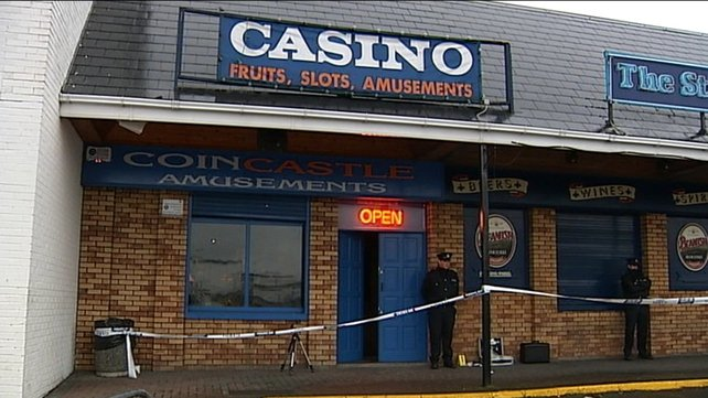 Mr Collins was shot outside the Coin Castle Amusements Arcade in 2009