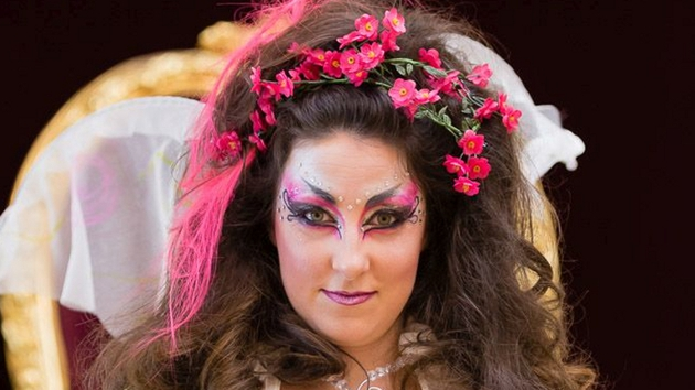 Georgina Miller as Titania in the new production of A Midsummer Night's Dream at Dublin Castle