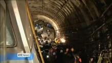 At least 20 killed in Moscow train derailment