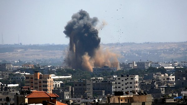 Israel and Hamas have exchanged hundreds of air strikes and rocket attacks