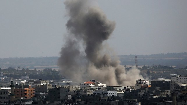 Shelling and rocket fire has resumed in Israel - Hamas conflict