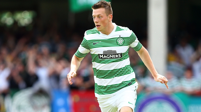 Callum McGregor's deflected shot hit the back of the net in the 84th minute