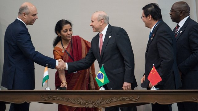 Representatives of the BRICS countries signed the development bank agreement at the end of its latest summit