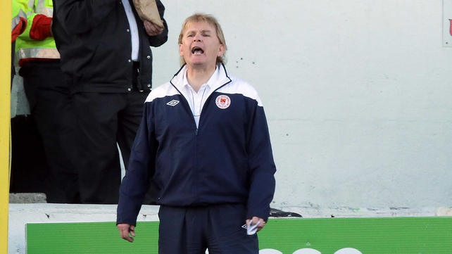 Liam Buckley said Legia Warsaw were expecting to progress at the expense of St Patrick's Athletic