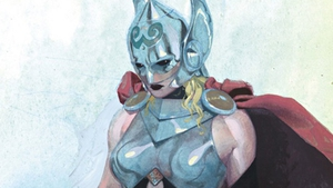 The new female Thor. Picture: Marvel Comics