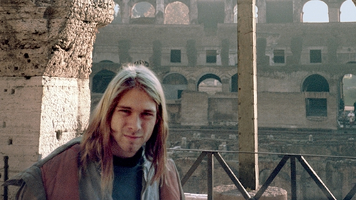Kurt Cobain in Rome, November 1989 (photo copyright: Bruce Pavitt)