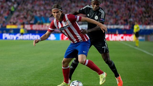 Filipe played against Chelsea in last season's Champions League semi-final