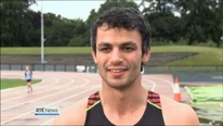 The 400m hurdling sensation on his national and European ambitions