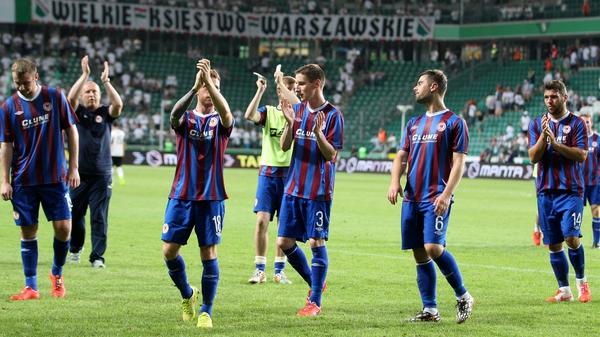 St Patrick's Athletic take a precious away goal into their second leg tie against Legia Warsaw
