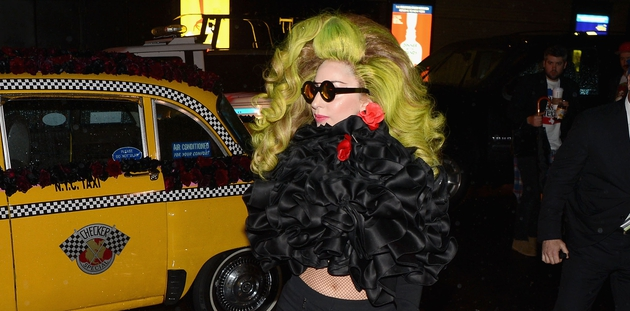 Lady Gaga: is there nothing she can't throw her hat at?
