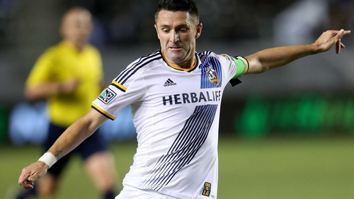 Robbie Keane was back on form in the MLS, scoring his eighth and ninth goals of the season