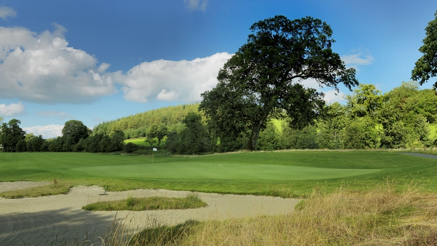 Home to a championship parkland course