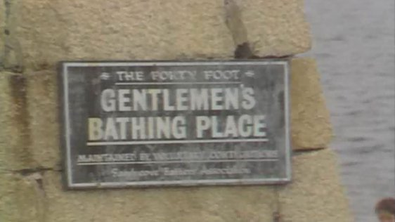 Forty Foot Gentlemen's Bathing Place
