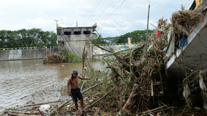 Typhoon Rammasun was the strongest storm to hit the Philippines this year