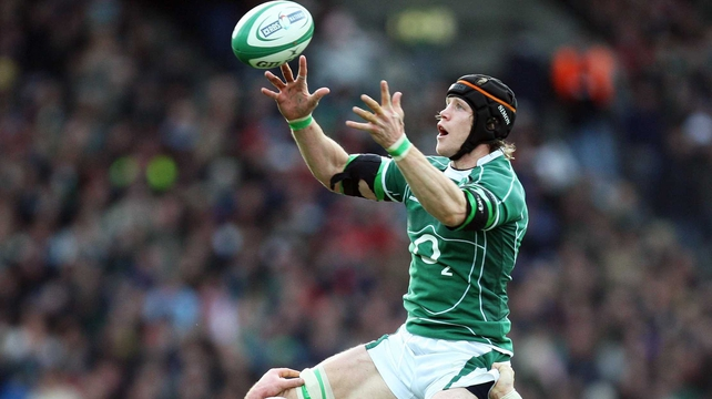 Simon Easterby played 65 times for Ireland between 2000 and 2008