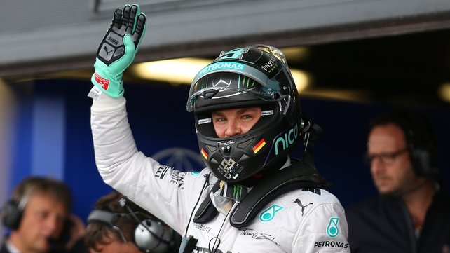 Rosberg goes into his home grand prix as world championship leader
