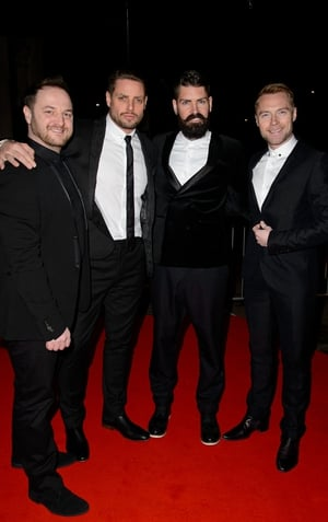 Boyzone are currently recording From Dublin to Detroit, a collection of their favourite Motown hits.