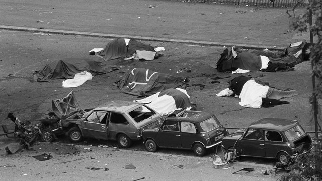 Four soldiers and seven horses were killed in the Hyde Park bombing in 1982