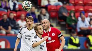 Alan Keane gave Sligo the lead in Norway