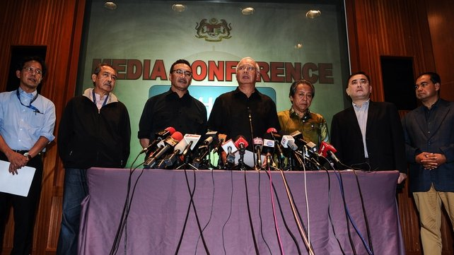 Malaysian Prime Minister Najib Razak demanded justice for those responsible for the incident