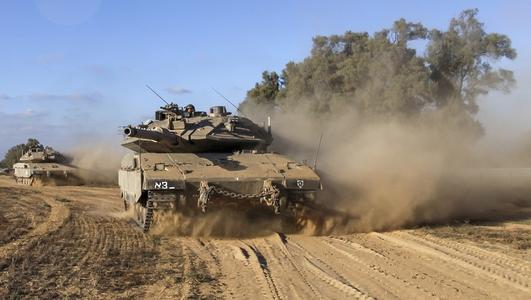 Israeli military begins ground offensive in the Gaza Strip