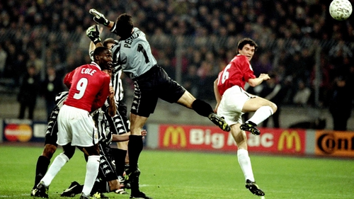 Roy Keane famously missed the 1999 Champions League final after picking up a booking in the semi-final against Juventus