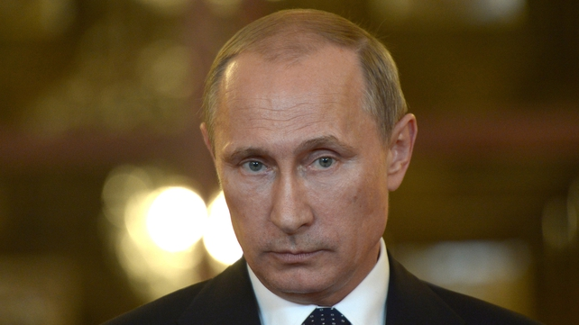 Vladimir Putin expressed his condolences to Dutch Prime Minister Mark Rutte over the crash