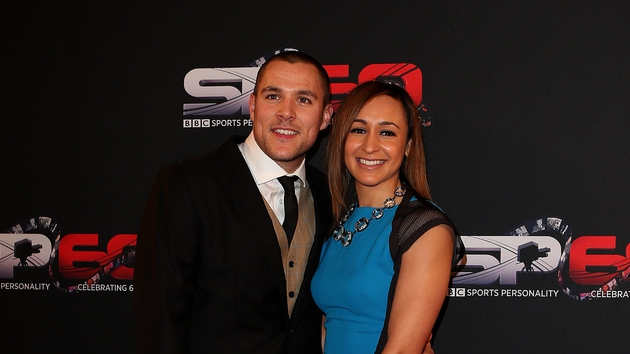 Jessica Ennis-Hill and her husband Andy Hill