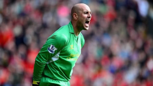 Pepe Reina said he had grown as a player as a result of his time at Napoli