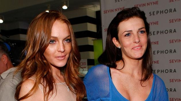 Lindsay Lohan and Ali Lohan
