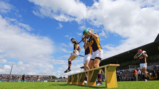 It's a third consecutive weekend of championship action for the Wexford hurlers