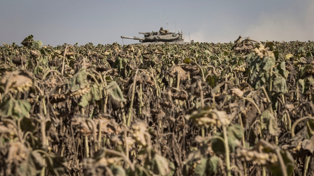 Israeli troops launch ground offensive