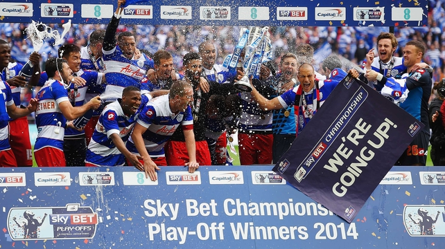 QPR beat Derby County in the Championship Play-Off final