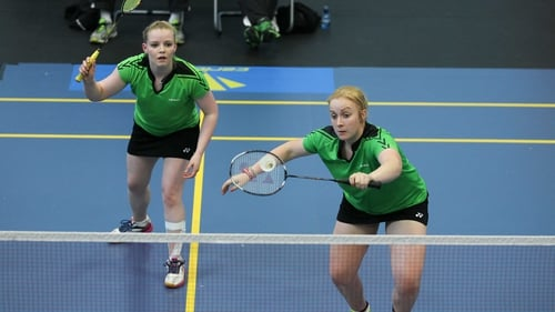 Sinead Chambers and Caroline Black were victorious in the women's doubles