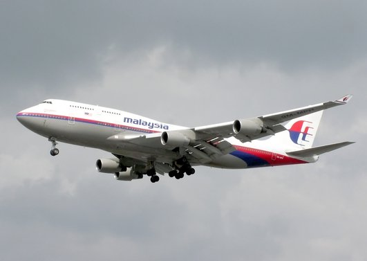 Downed Malaysia Airliner MH17