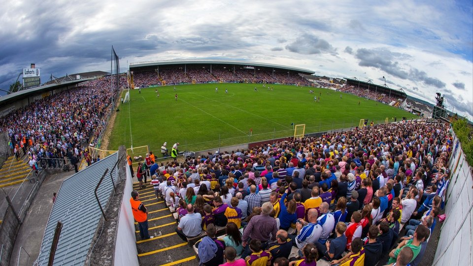 Meanwhile, in Nowloan Park, the crowd prepared for Waterford vs Wexford