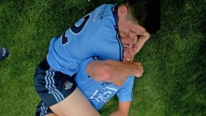 Dublin's Diarmuid Connolly and Cormac Costello celebrate