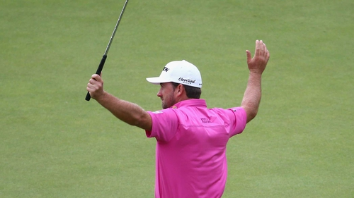 Graeme McDowell finished in a tie for tenth